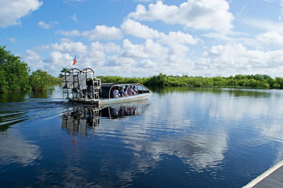 Heading out on Airboat Tours in the Everglades