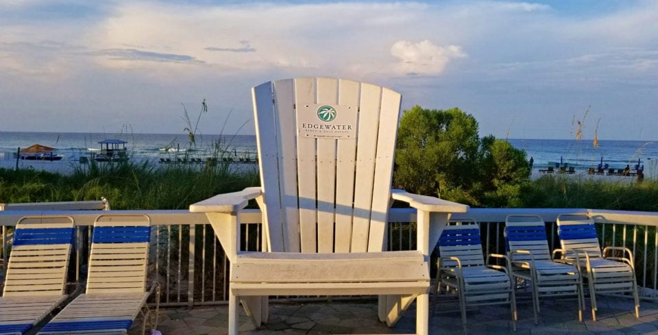 Come in, Sit down, and stay a while at Edgewater Beach & Golf Resort