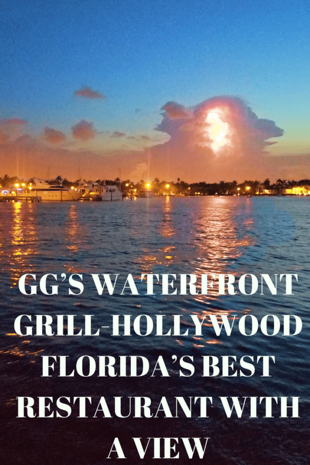 GG's Waterfront Grill offers casual elegance, locally sourced seafood, and perhaps the best sunsets in Fort Lauderdale / Hollywood Beach.