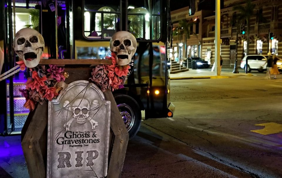 Ghosts and gravestones tour Key West