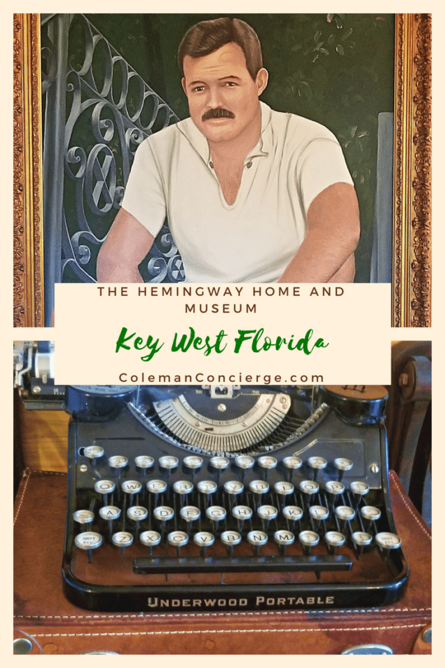 Why would the most macho man in literature own a cat? On my visit to the Hemingway Home in Key West Florida, I learned the answer to that question along with the heroism of loving and living life the best you can with every day you have. #KeyWest #Hemingway #Florida #Hemingwayhouse