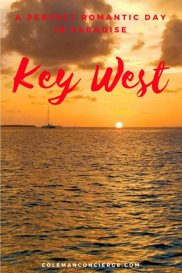 How would you spend your perfect romantic day with your love? How about on the island paradise of Key West? The Keys are the perfect fantasy world where reality meets possibility. It's exotic but familiar, with stunning sunsets, rich history, and a unique vibe. Click to learn more... #KeyWest #Romantic #Florida #CouplesTravel #RomanticGetaway