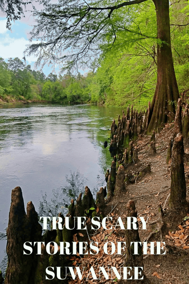 What is a campout without a good true scary story? Like most scary stories, these are grounded in history. While there are no known fabrications, the absolute truth may have been weaved with a little innuendo, but nothing we have are presented is pure fiction or fabrication. These are real scary stories of the Suwannee.