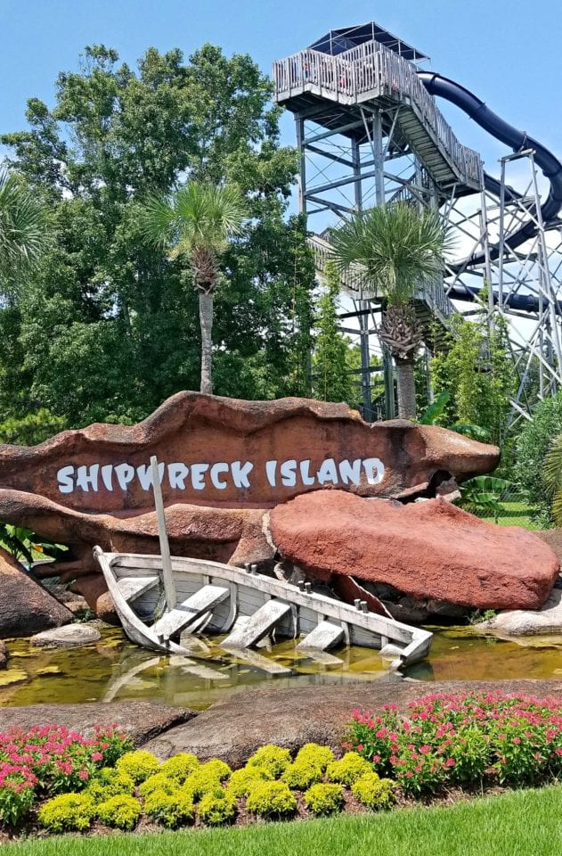 Entry to Shipwreck Island