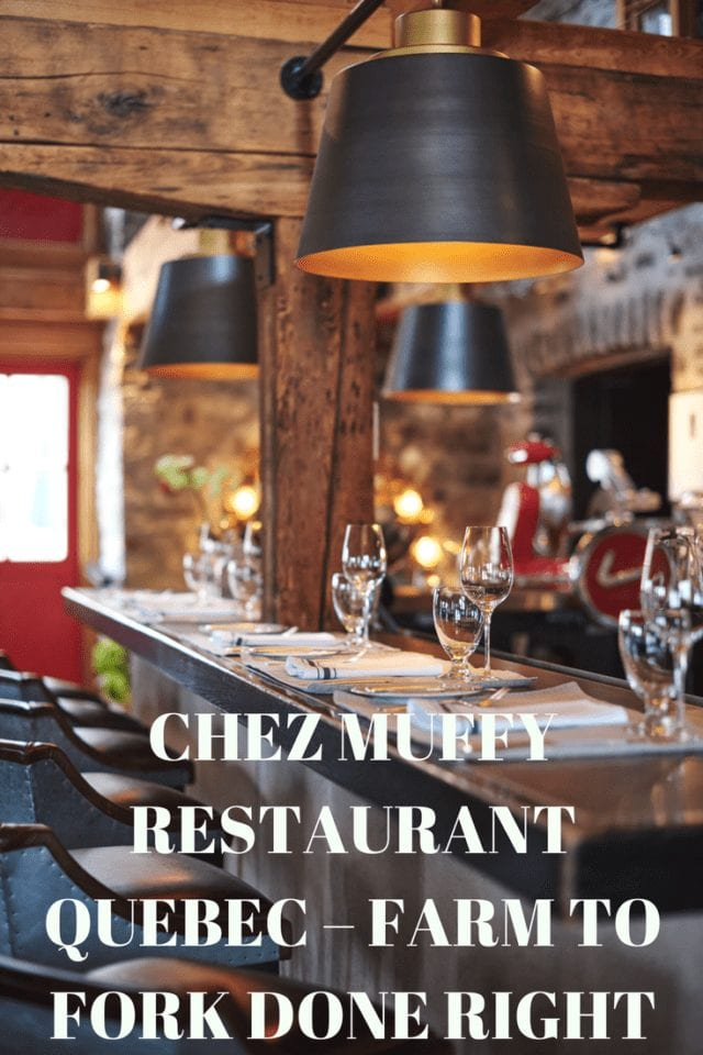 Are you looking for a true bistronomic experience at a Quebec restaurant? Quebec is known as the most Franco city in North America, and the French are known for the fabulous gastronomy. If you're looking for an eclectic and memorable dining experience, you must try Chez Muffy, farm to fork at it's finest!