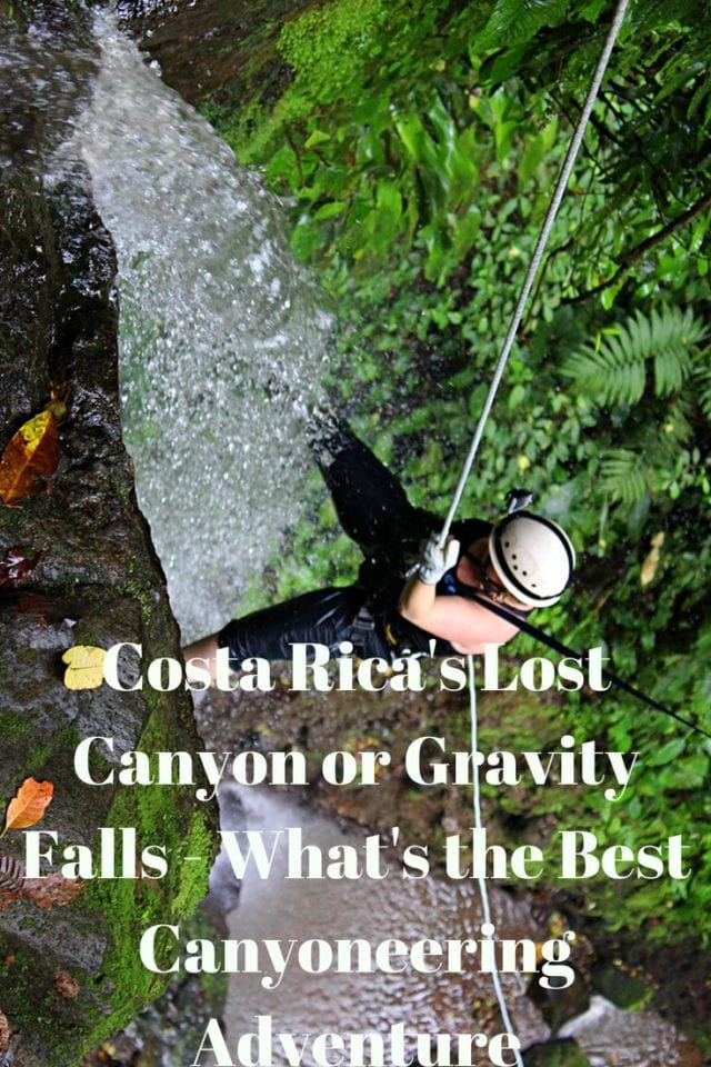 Costa Rica is an adventure travel mecca, and canyoneering is a super-fun activity. Many commercial canyoneering trips are available there, but two continually stand out – Lost Canyon and Gravity Falls, but which is better?