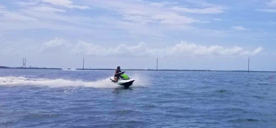 Nothing beats the rush of racing on a jet ski.
