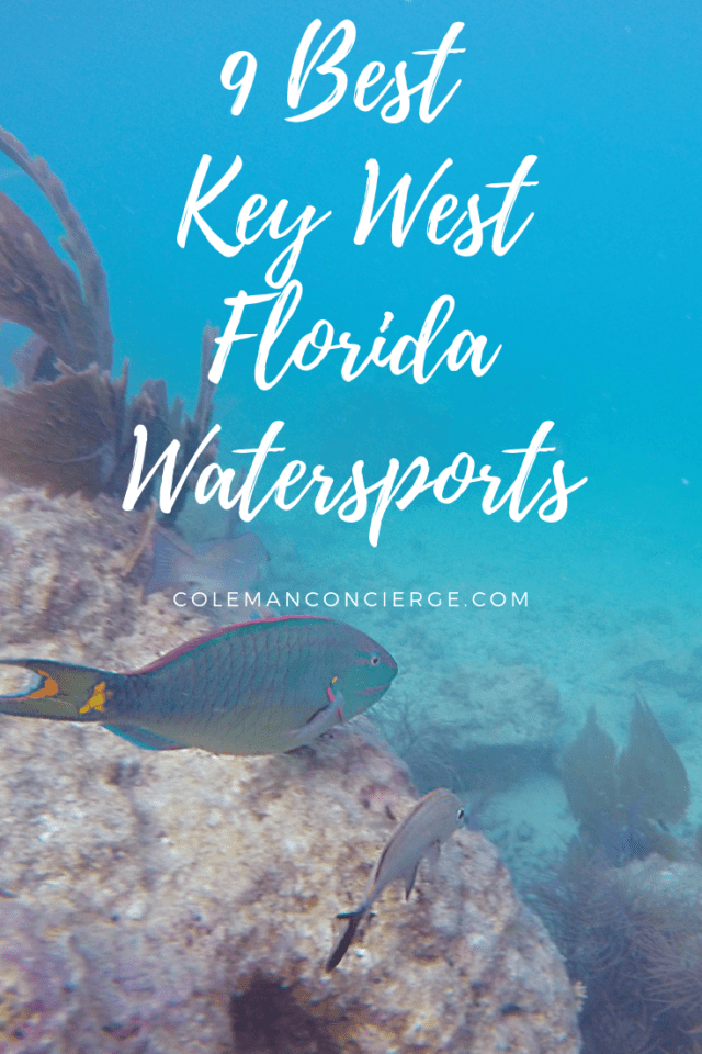 Key West is full of amazing adventures, romance, but no island trip is complete without entering the ocean. From kayaking, snorkeling, scuba diving, jet skiing and more, there is no shortage of watersports. Click through for more details. #KeyWest #Florida #Watersports #OnlyintheKeys #TheFloridaKeys