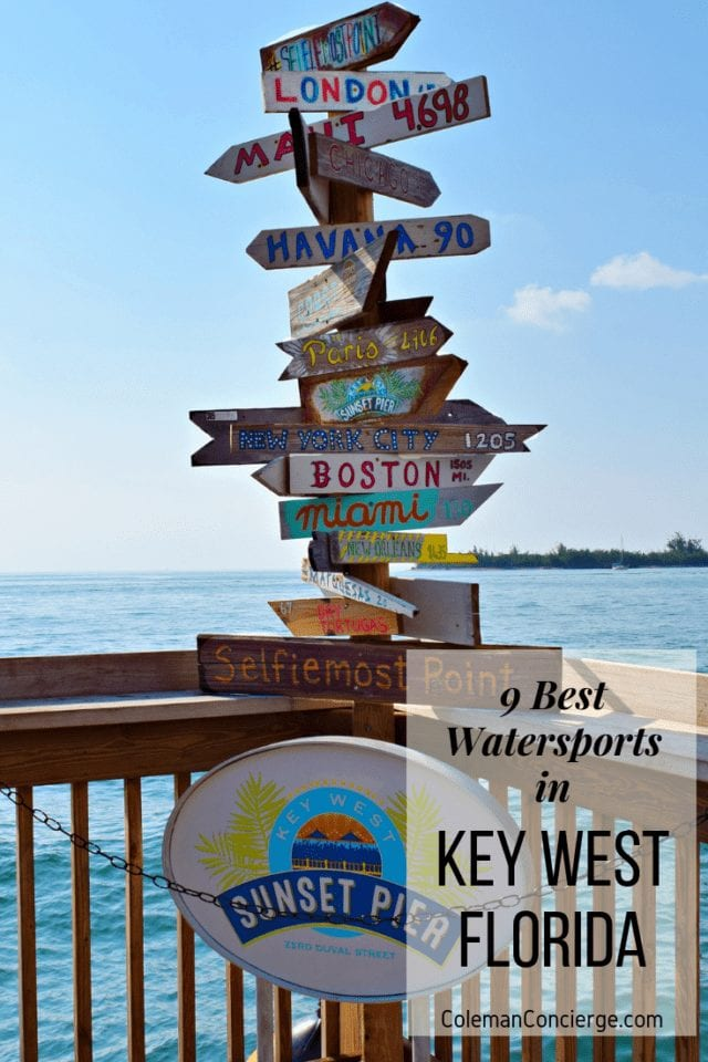 Key West Watersports Pin 2