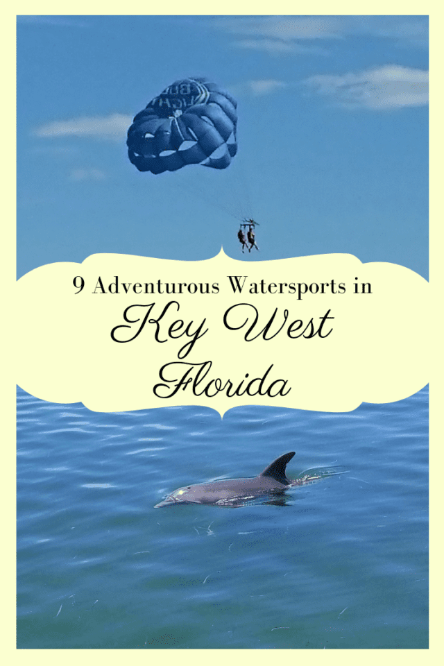 Want to experience the best of Key West? Watersports like kayaking, jet ski tours, and snorkeling and more show you some of South Florida's most beautiful marine life & tropical scenery. Click to learn more about the fun ways to get in the water in Key West. #KeyWest #Florida #Watersports #OnlyintheKeys #TheFloridaKeys