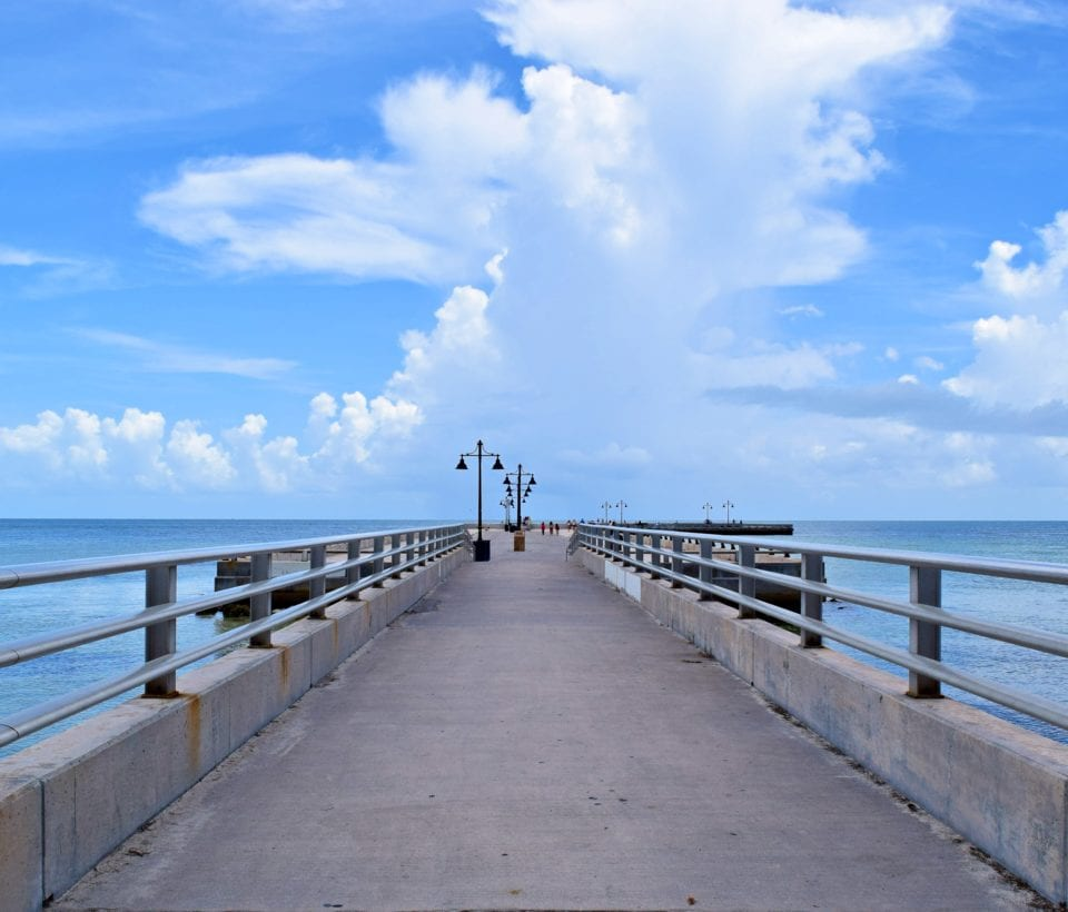 Edward Knight Pier at Key West