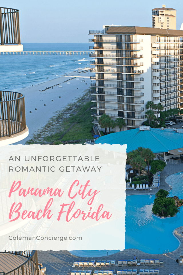 Panama City Beach is as romantic a destination as you can get! White sand beaches, warm gulf waters, and the perfect balance of nightlife and wildlife to create an enticing romantic destination. Click through to read more on Coleman Concierge. #RealFunBeach #Florida #PanamaCityBeach #RomanticGetaway #CouplesTrip