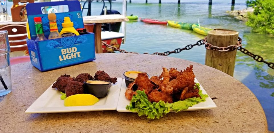 Coconut Shrimp and Conch Fritters