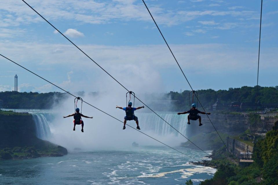 Mistrider Zipline Niagara Falls