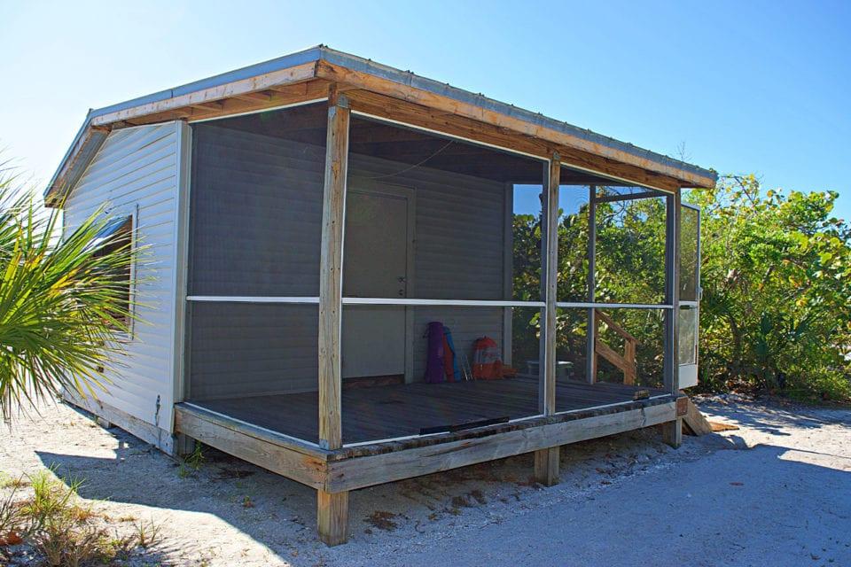 Cayo Costa camping cabin
