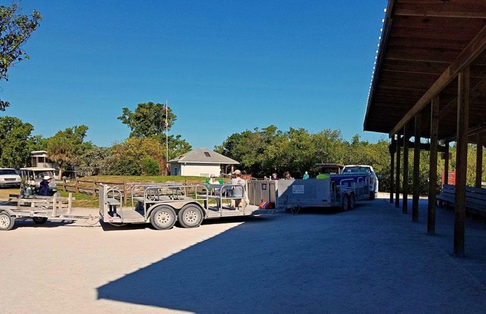 Cayo Costa camping shuttle