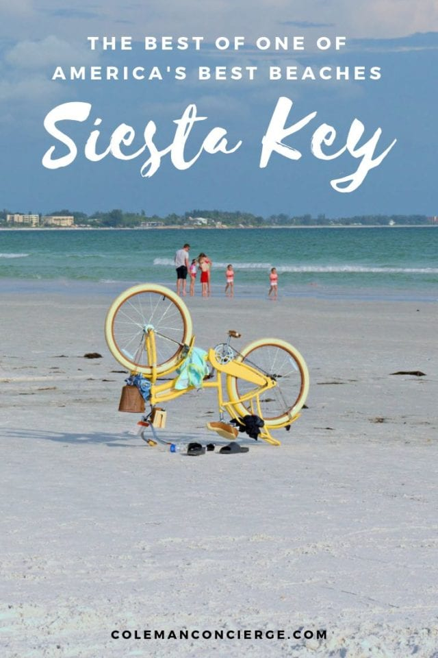 Bike on Siesta Key Beach