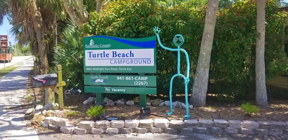 Turtle Beach Campground Siesta Key