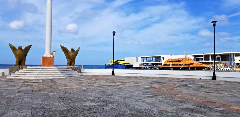 Cozumel Ferry Dock