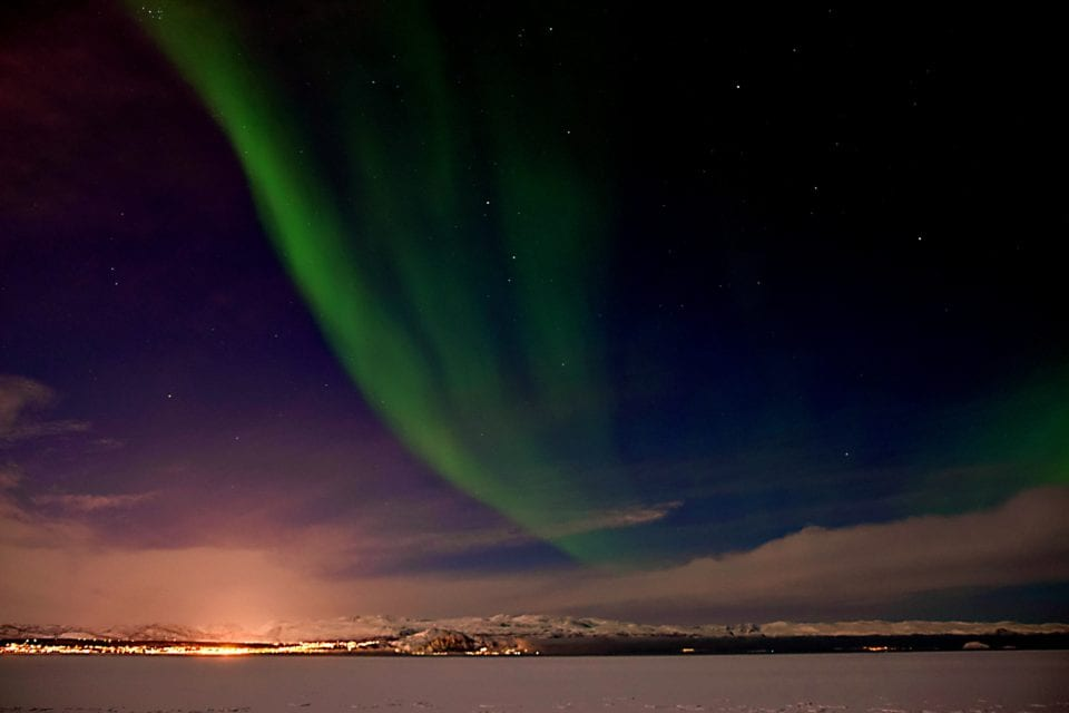 Northern lights over Alta Norway