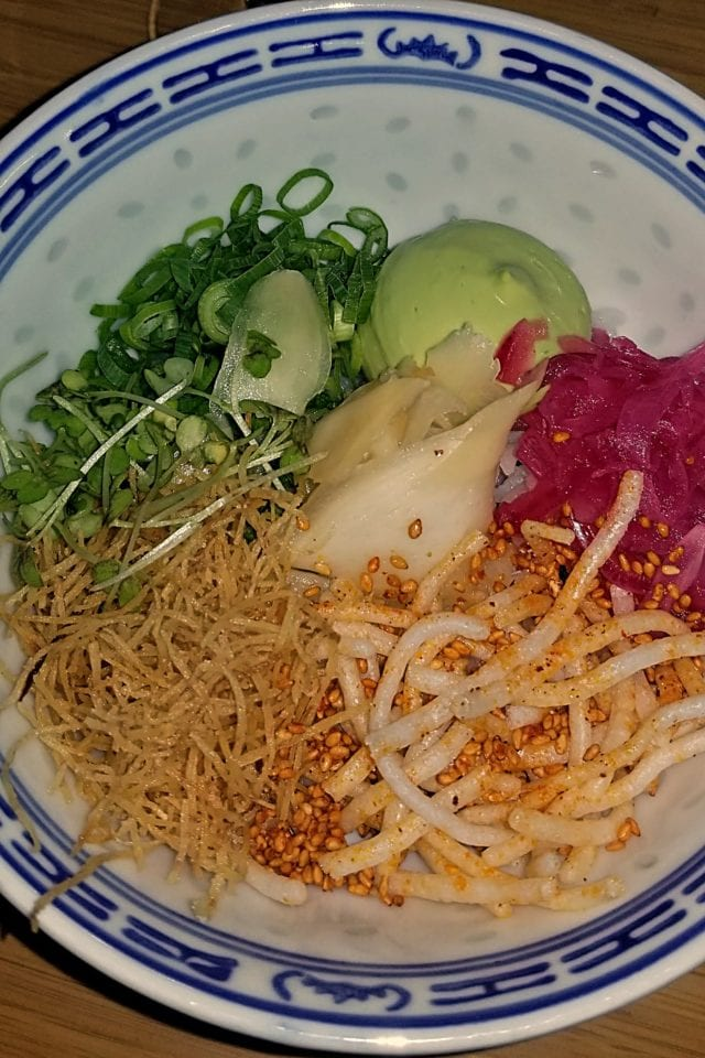 Course 1 - Sushi Bowl Hitchhiker Restaurant Oslo