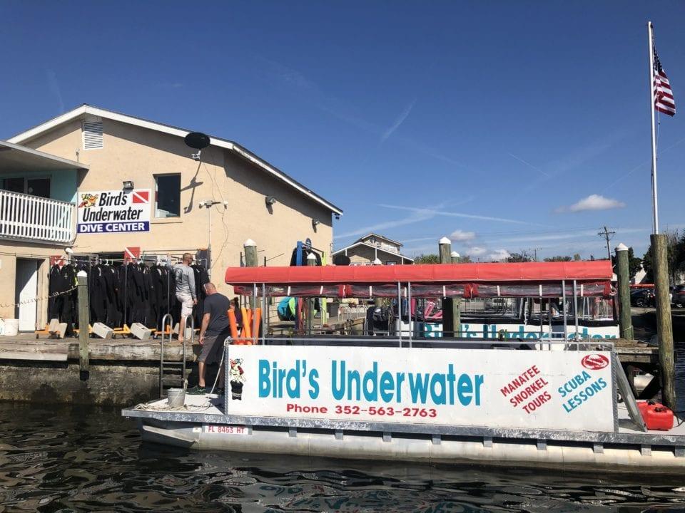 Birds Underwater Boat via Janiel @culturetrekking