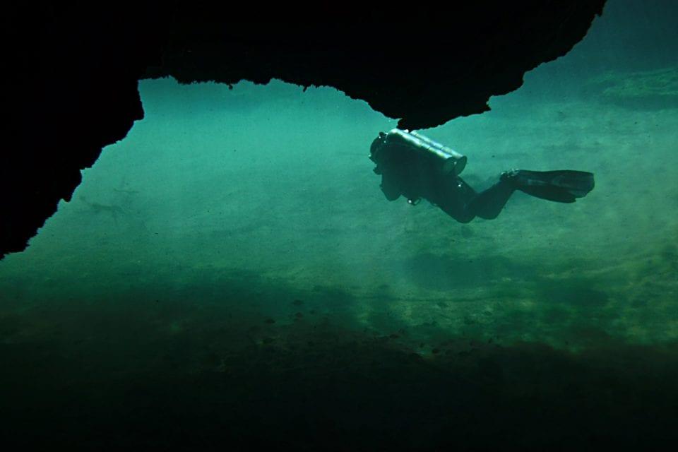 Diver La Casa Cenote