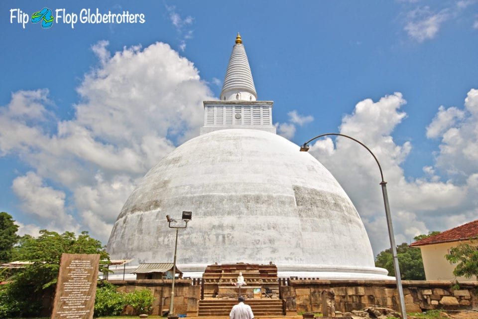 Stupa at Anuradhapura - Photo Lisa van den Berg @ Flip Flop Globetrotters