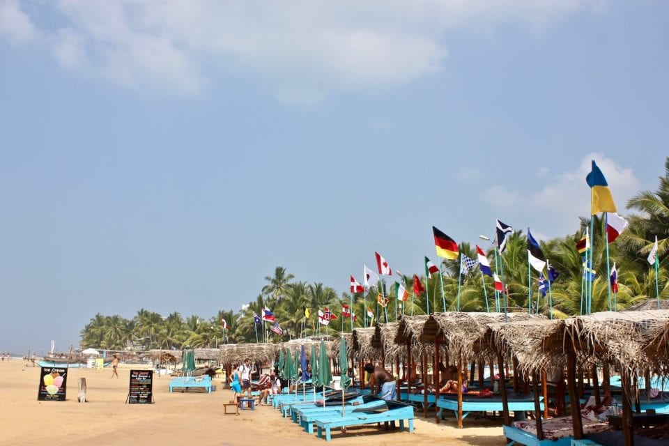 Hikkaduwa Beach by Brianne @ A Traveling Life
