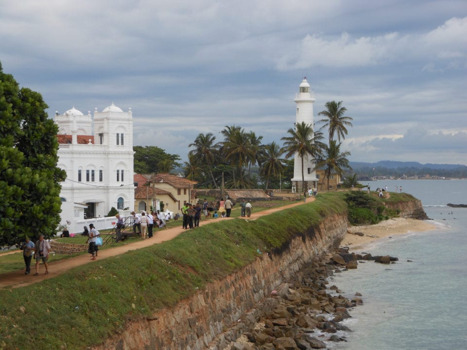 Dutch Fort at Galle - Photo by Katja Gaskell @ Globe Totting