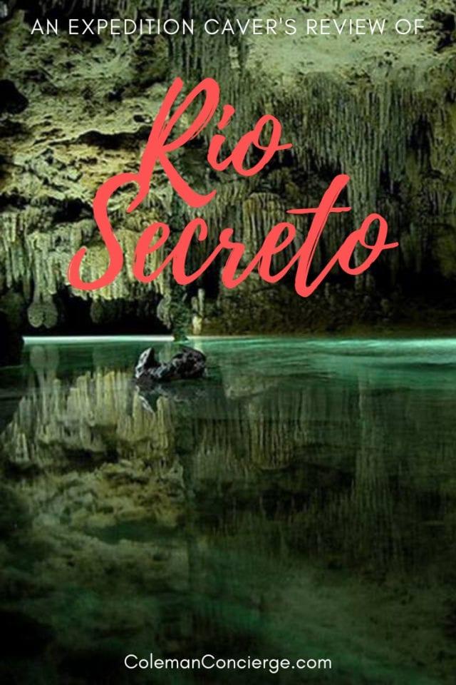 Rio Secreto Mexico