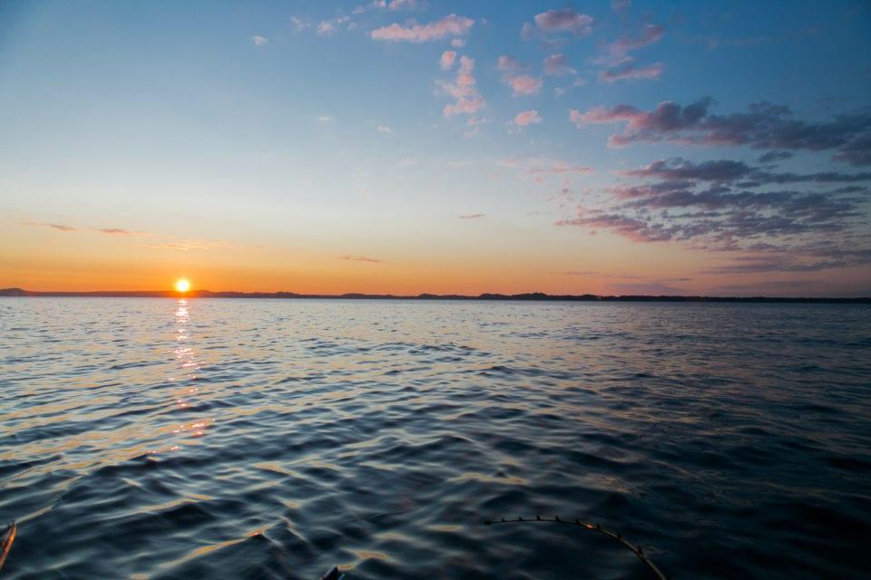 Sunset Fife Lake Michigan via Canva