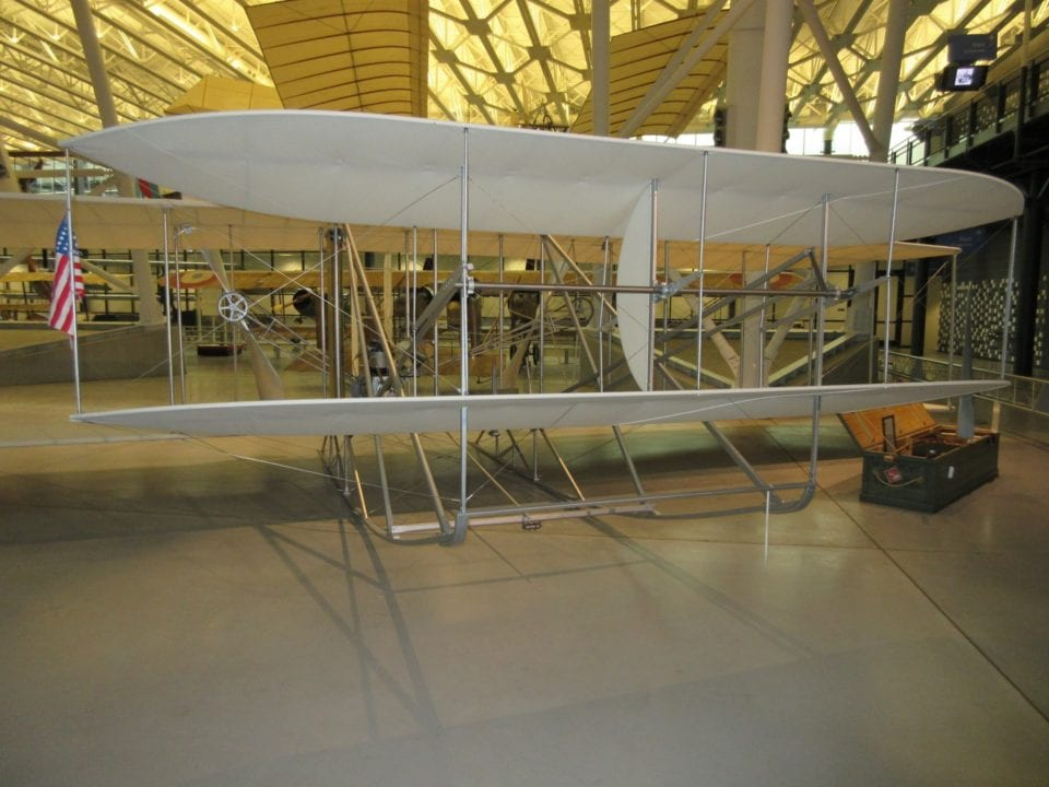 Wright brothers plane Image by Brian Rollins from Pixabay