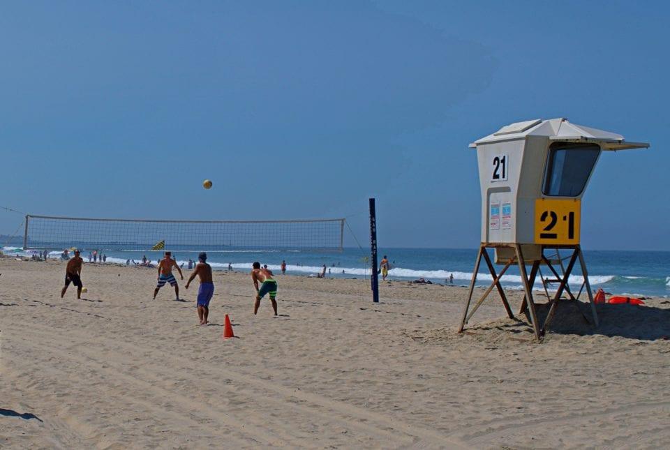 Beach Volleyball Mission Beach