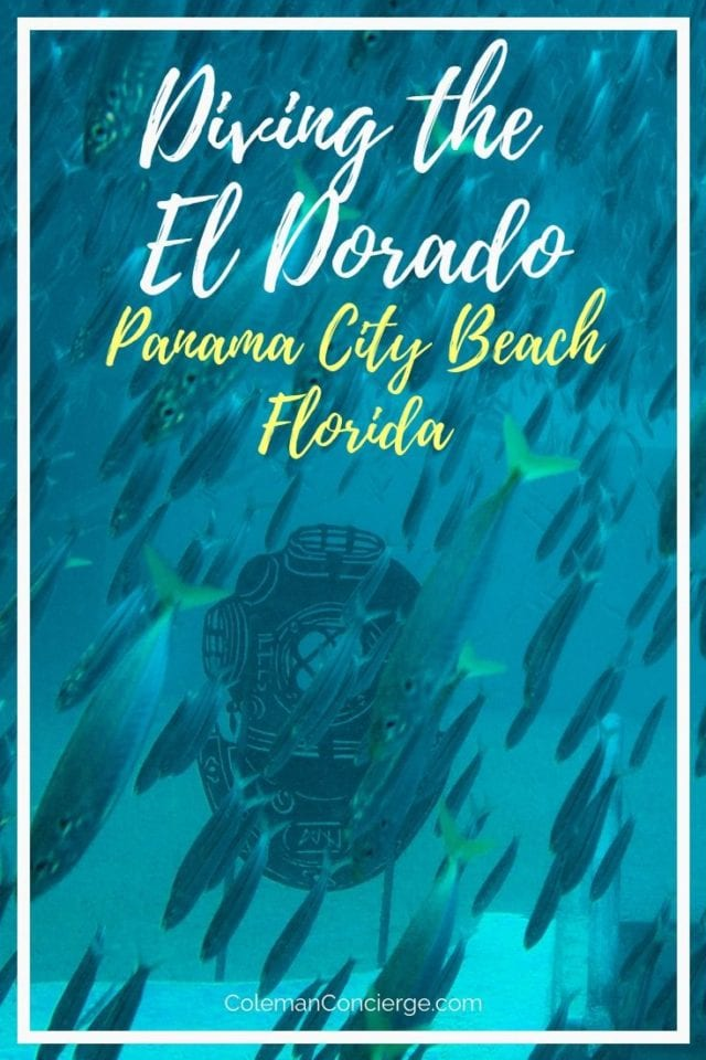 Scuba diving El Dorado Panama City Beach
