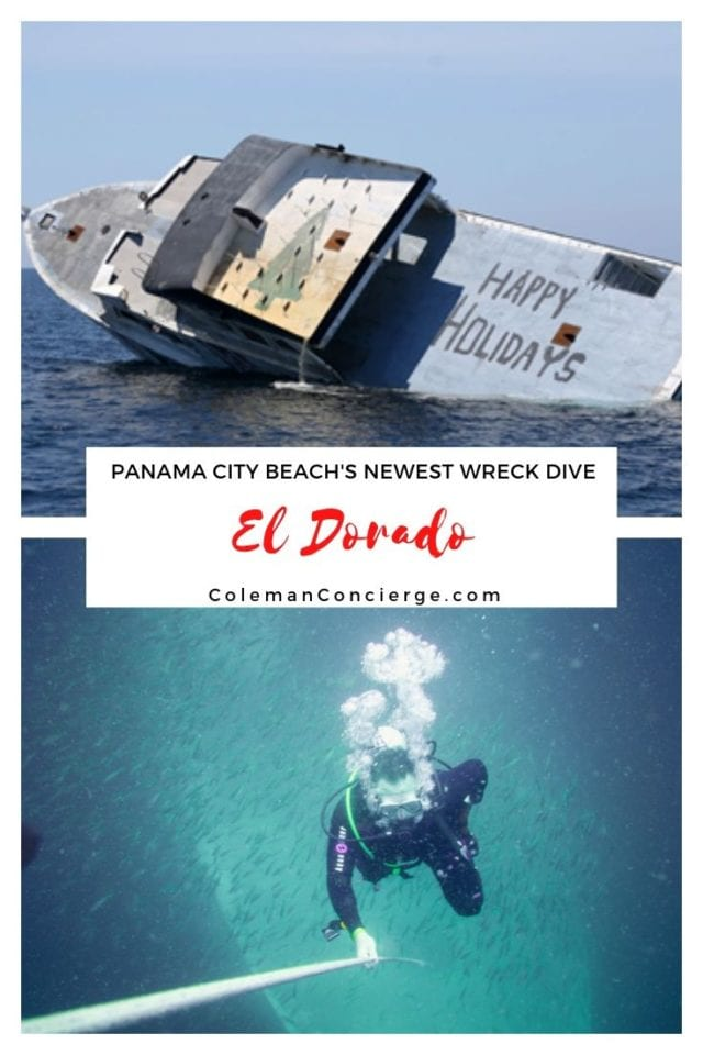 El Dorado Dive site Panama City Beach Florida