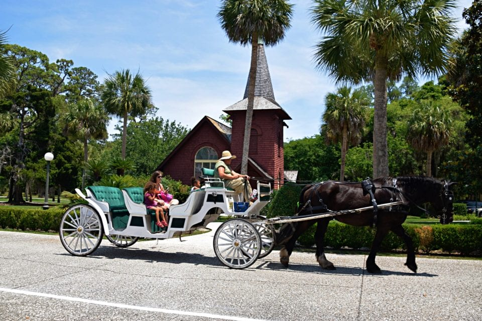 Horse drawn carriage Jekyll Island