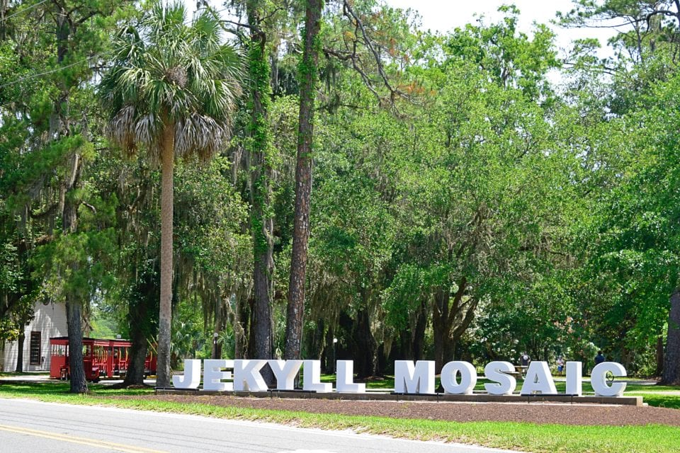 Jekyll Mosaic Jekyll Island