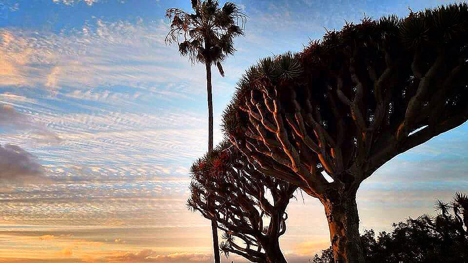 Sunset over La Jolla Shores