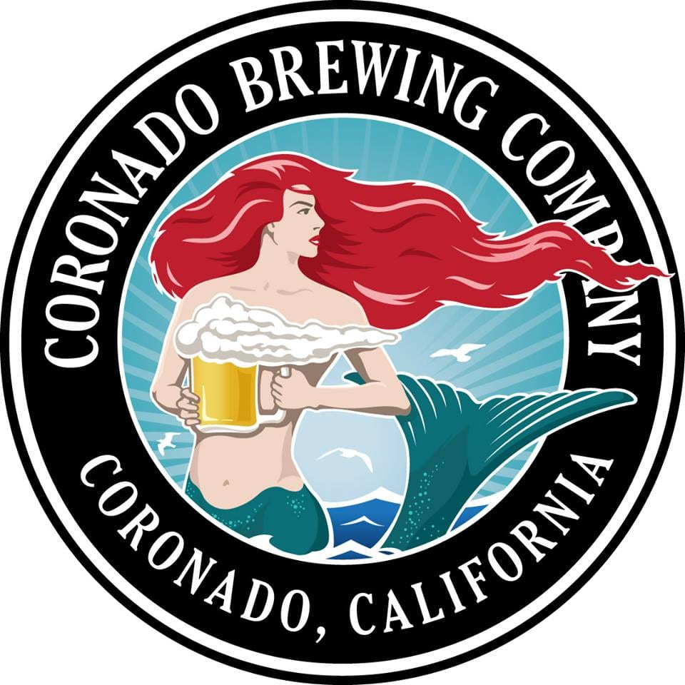 Logo of Coronado Brewing, a San Diego Brewery
