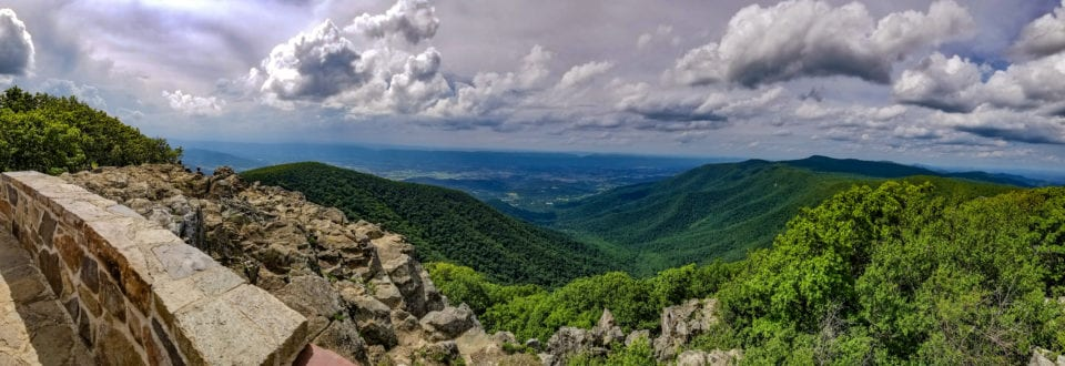 Hawksbill Peak panorama view