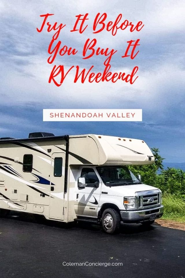 RV in Shenandoah National Park