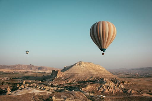 Scenery at Cappadocia Turkey