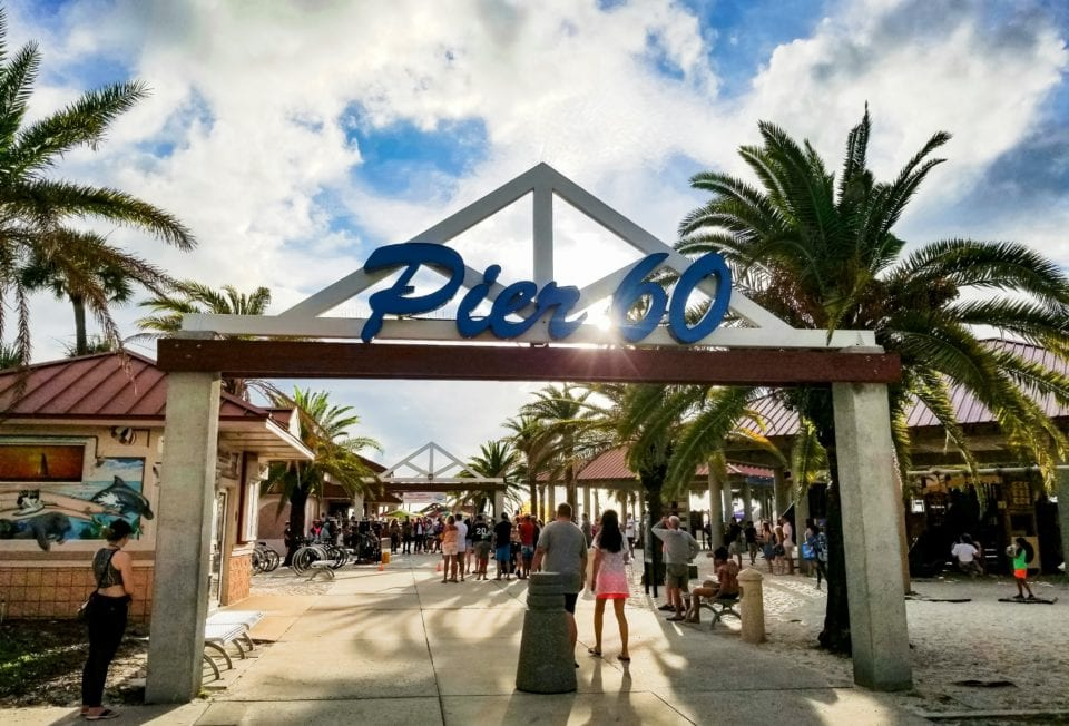 Pier 60 at Clearwater Beach