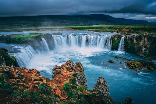 Beautiful Icelandic landscape