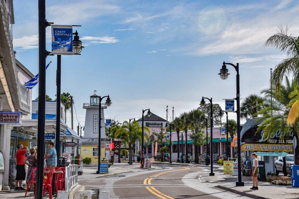 Tarpon  Springs is like a Greek Village on the Florida Gulf Coast