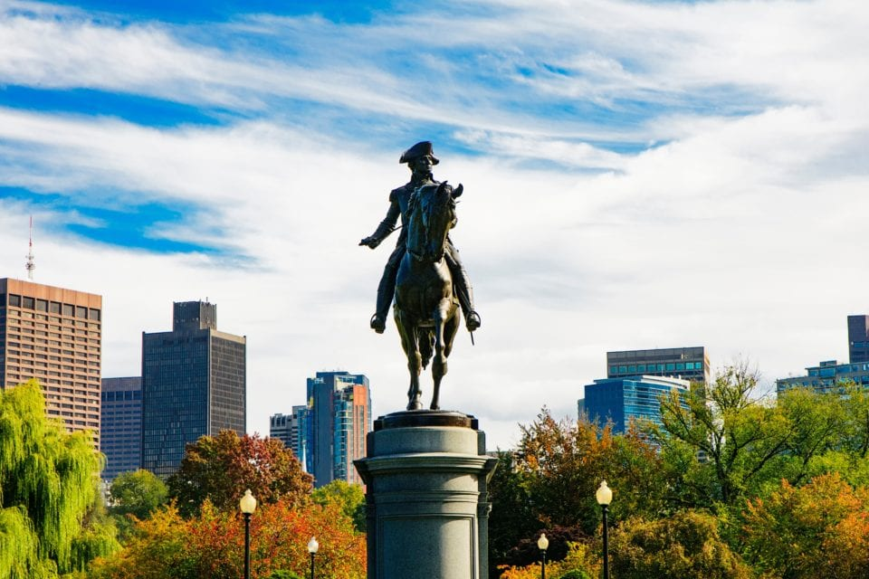 Boston Common via Canva