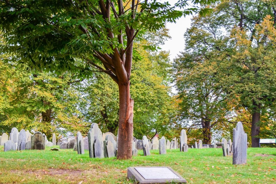 Copp's Hill Burial Ground Boston via Canva