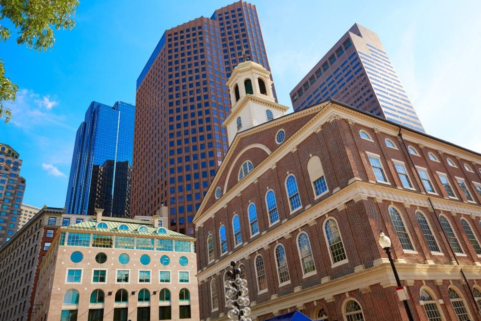 Faneuil Hall Boston via Canva