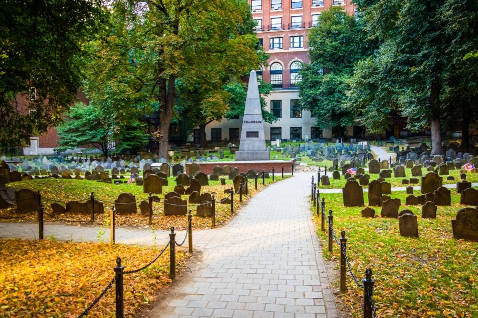 Granary Burial Ground via Canva